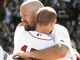 """""""Kevin Youkilis plays his last game as a Boston red Sox"""""""