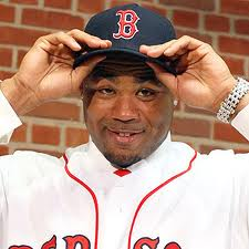 """""""Boston Red Sox outfielder Carl Crawford"""""""