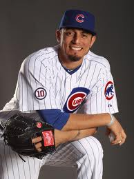 """Matt Garza of the Cubs"""