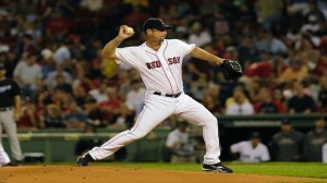 """Boston Red Sox knuckleballer Tim Wakefield"""