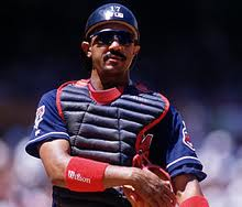 """Boston Red Sox catcher Tony Pena"""