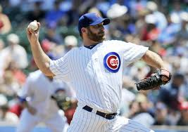Pitcher Ryan Dempster looked good at the start of the season.