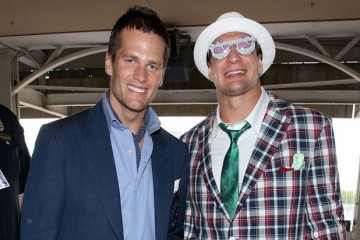 gronk_brady_kentucky_derby