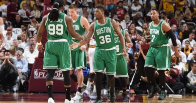 Celtics used six of their picks — and shock America