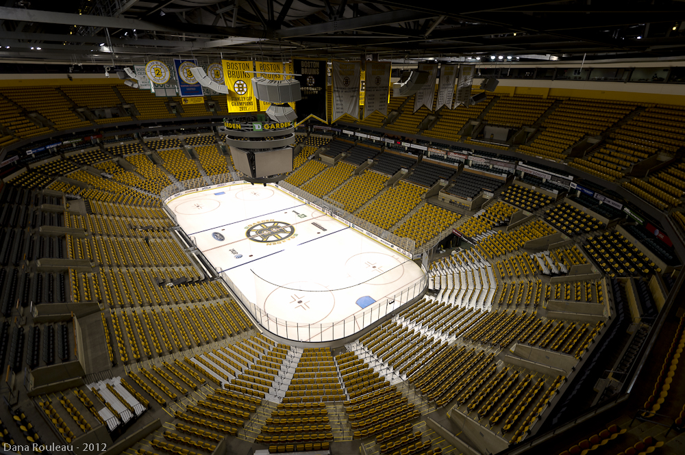 TD Garden Boston Bruins