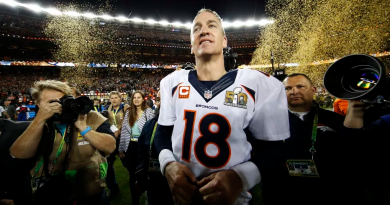 Love Him or Hate Him, Peyton Manning is Going Down a Champ