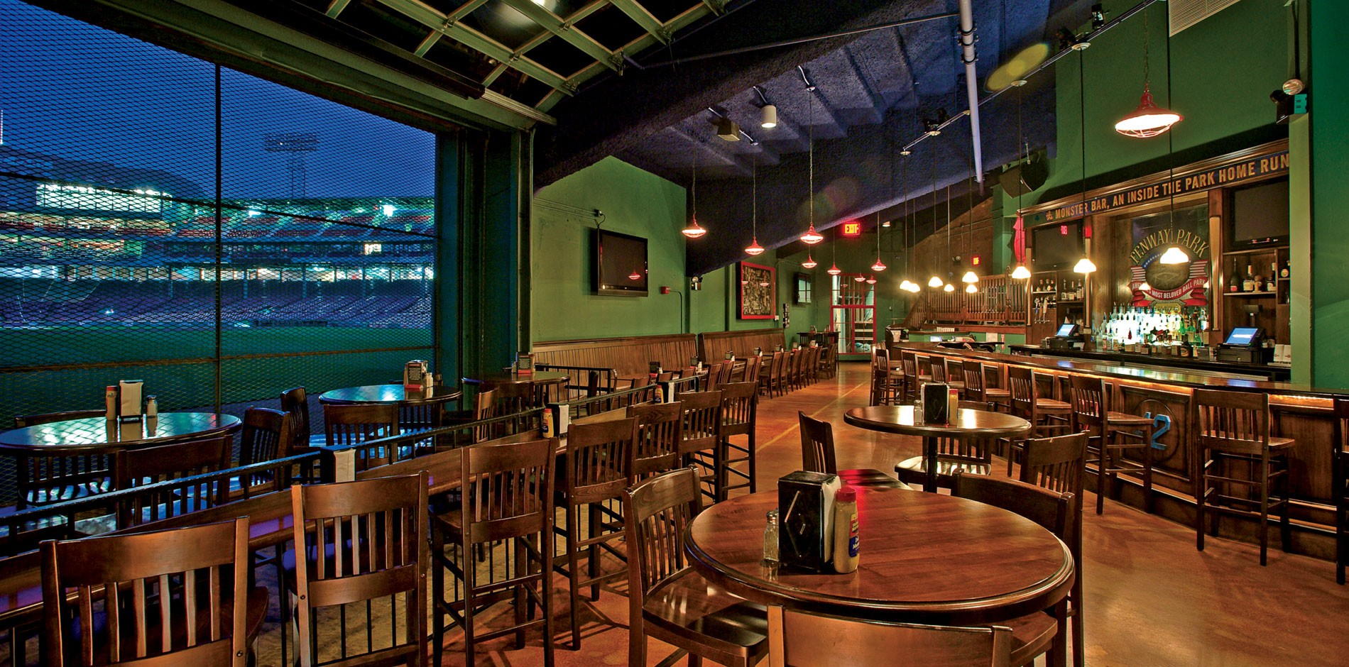 Bleacher Bar Red Sox