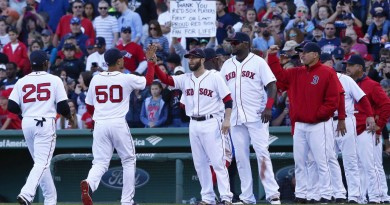 The Red Sox position player depth right now is putrid