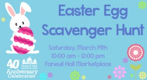 Boston Easter Egg Scavenger Hunt