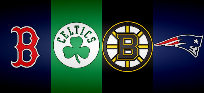 Red Sox, Celtics, Bruins, Patriots