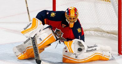 Roberto Luongo pays homage to his father, Brad Marchand
