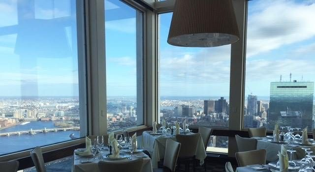 Top Of The Hub Boston S Most Scenic Restaurant